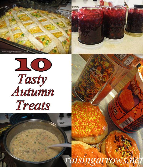 10 Tasty Autumn Treats
