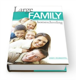 Large Family Homeschooling - releases April 1!