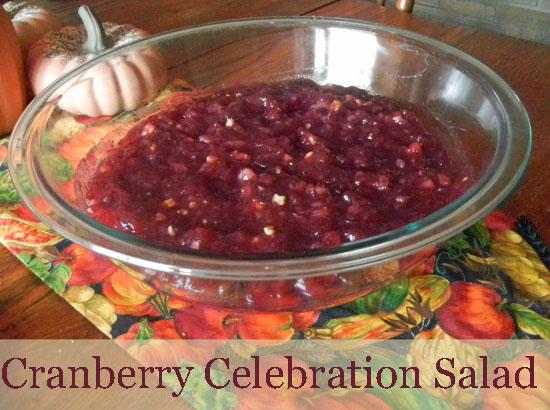 Cranberry Celebration Salad