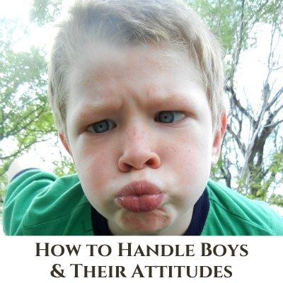 How to Parent and Discipline Boys and their Attitudes