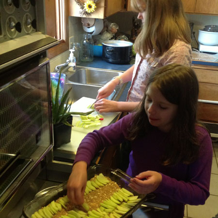 Things I learned while on bedrest - kids can cook and do so much more!