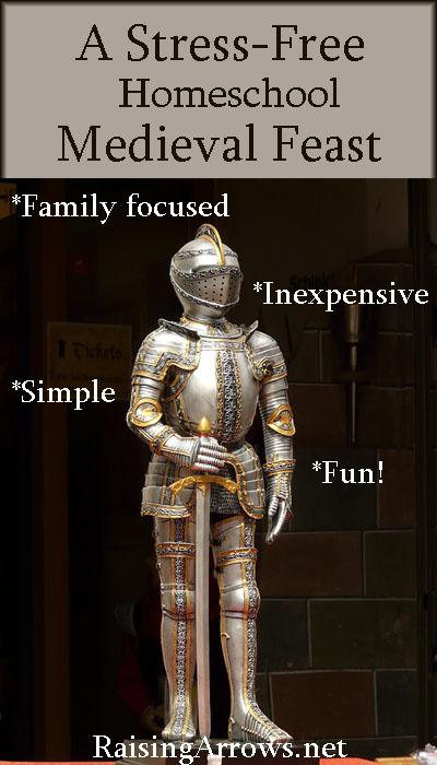 Plan a Medieval Feast | RaisingArrows.net
