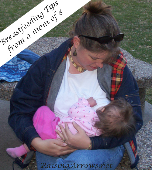 Breastfeeding Tips | RaisingArrows.net