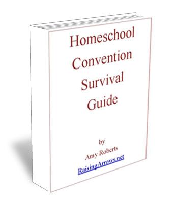 FREE ebook - Homeschool Convention Survival Guide | RaisingArrows.net