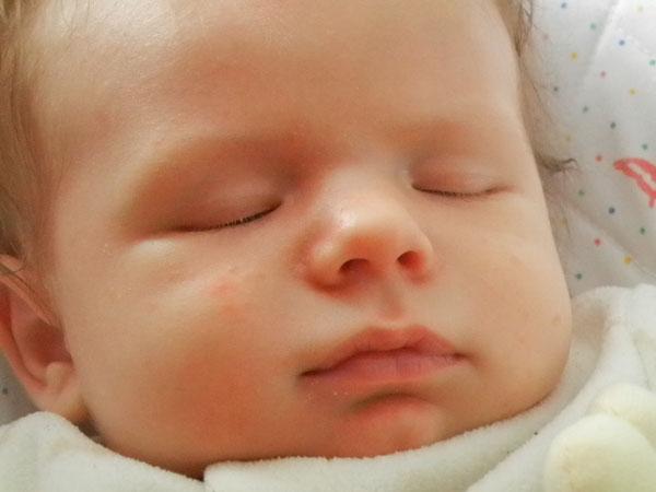 sleeping 5.5 wks