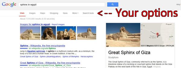 sphinx screen shot
