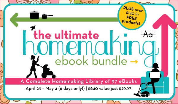 Homemaking ebook Bundle!
