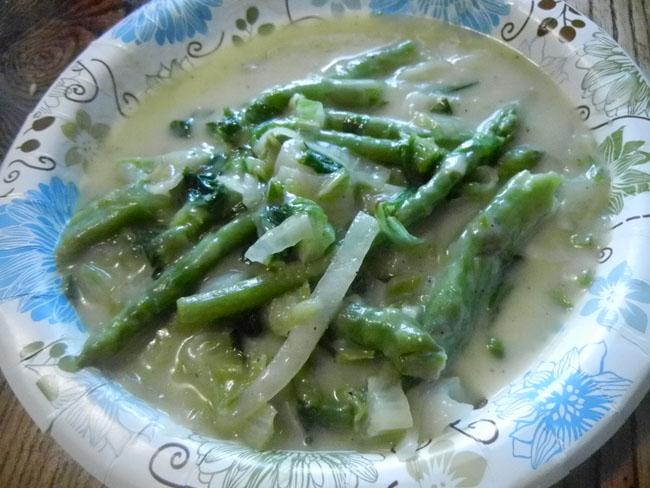 asparagus ragoo