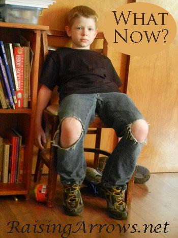 What Now? | RaisingArrows.net
