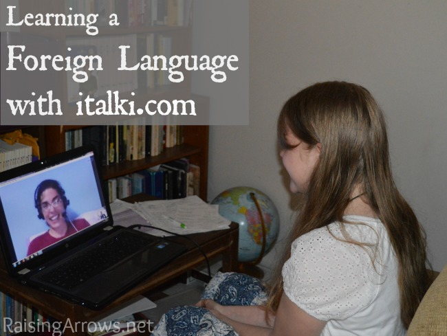 Learning a Foreign Language with italki.com {review of online foreign language instruction} | RaisingArrows.net