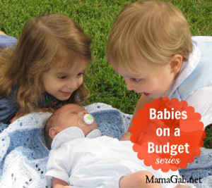 babies on a budget series