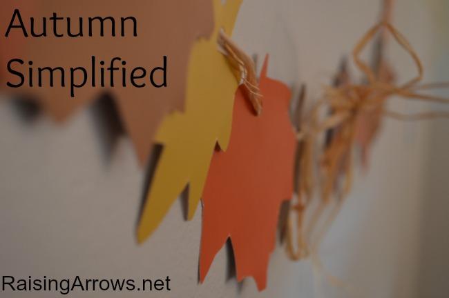 Autumn Simplified