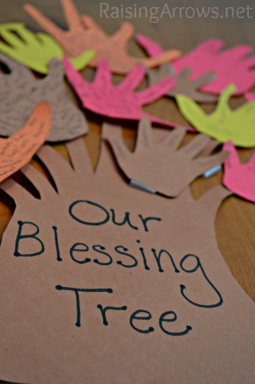 A Family Blessing Tree Craft | RaisingArrows.net