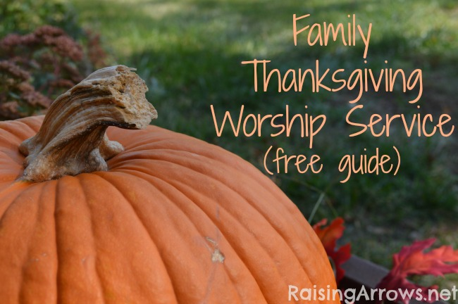 Free Family Thanksgiving Worship Service