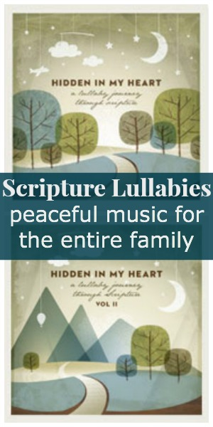 Scriptures Lullabies ~ the peaceful music I was looking for {review & giveaway}   RaisingArrows.net
