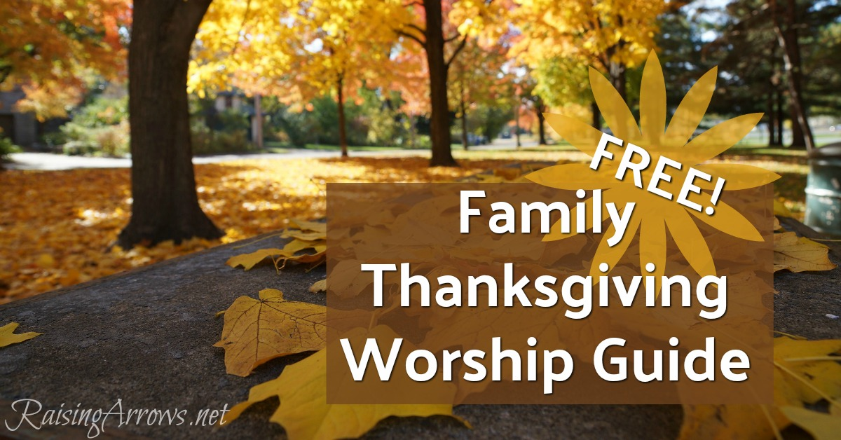 FREE Family Thanksgiving Worship Guide - Read the Psalms, Sing the Hymns!