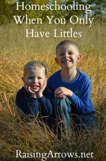 What Does Homeschooling Look Like When Your Children are All Little? | RaisingArrows.net
