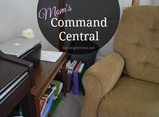 Mom's Command Central (control the chaos!) | RaisingArrows.net
