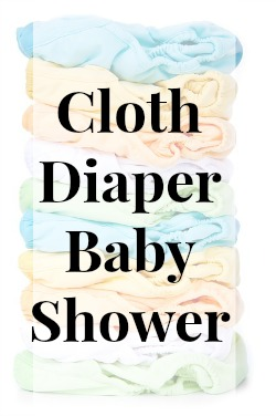 Cloth Diaper Baby Shower {and a giveaway!} | RaisingArrows.net