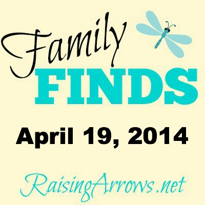 Family Finds 4/19/14 - Notebooking, Kids in Church, Hard Lotion, and Win $ and a Hotel Stay!} | RaisingArrows.net