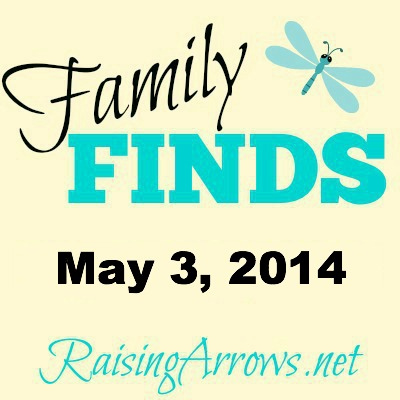 Family Finds – May 3, 2014