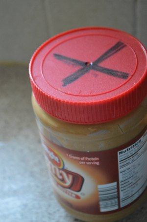 Stop Opening Every Jar of Peanut Butter We Own!