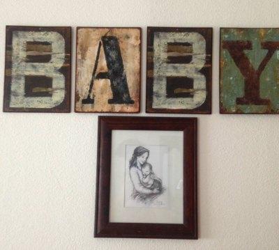 Baby sign & sketch from Breezy Tulip Studio
