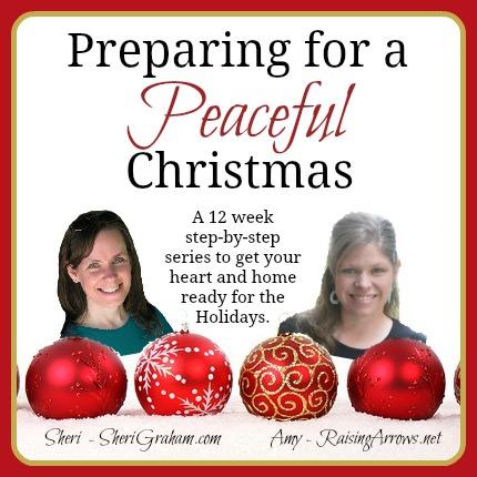 Preparing for a Peaceful Christmas {a 12 week series}