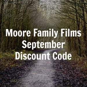 Moore Family Films Discount Code - good through September (think Christmas presents!)