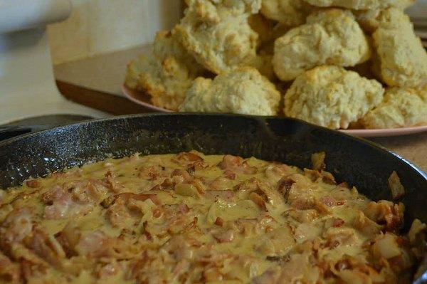Bacon Gravy - a Trim Healthy Mama Alternative to Biscuits & Gravy | RaisingArrows.net