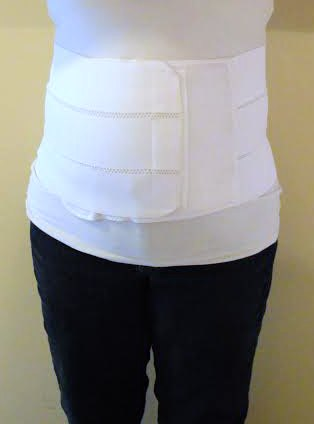 Front view of 3 Panel Splint from The Tummy Team | RaisingArrows.net