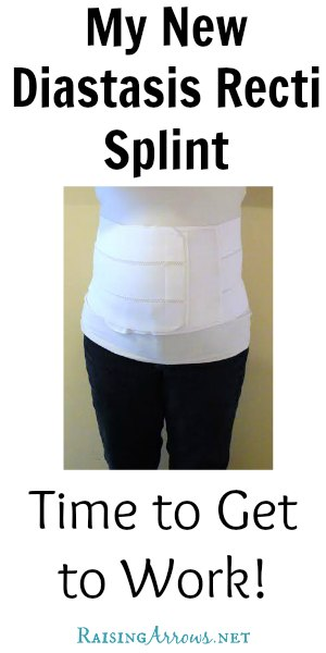 I finally found a diastasis recti splint that is easy to use, comfortable, fits great, and works wonderfully - all for a reasonable price! | RaisingArrows.net