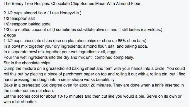 Chocolate Chip Scone Recipe