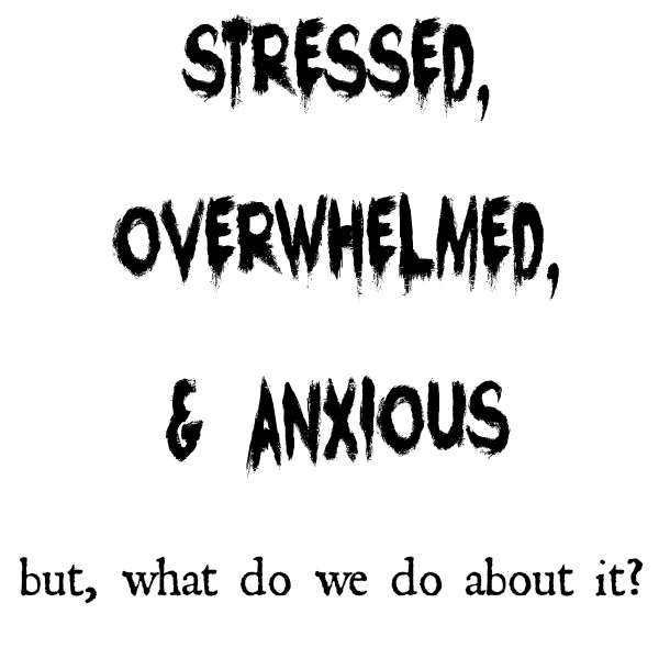 Stressed, Overwhelmed, & Anxious – But What Do We Do About It?
