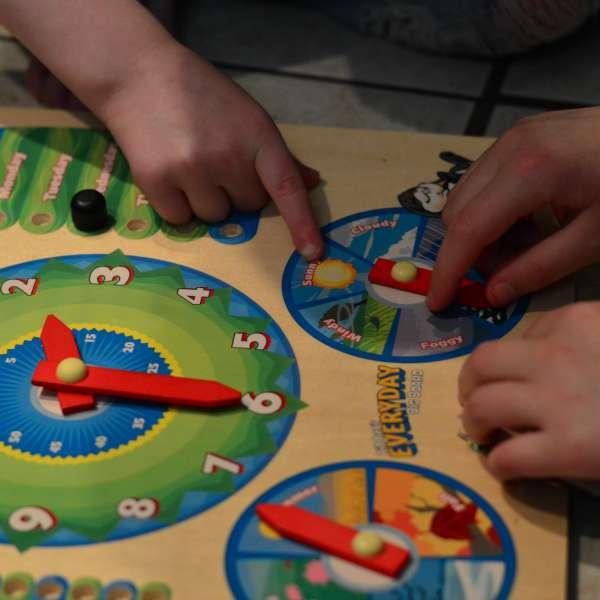 Everyday Board for Preschool Learning! | RaisingArrows.net