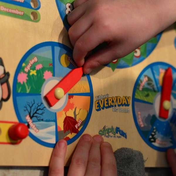 Using an Everyday Board to teach preschoolers | RaisingArrows.net