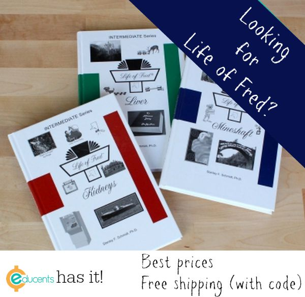 Educents has Life of Fred at the best prices I've found!