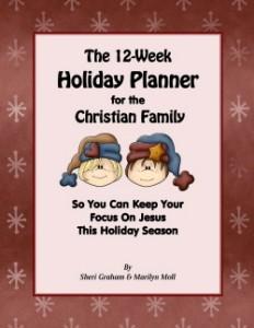 12 Week Holiday Planner