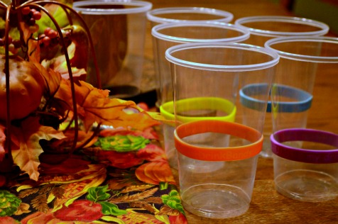 Bring DrinkBands to Thanksgiving this year and cut down on sickness and lost cups! {Giveaway going on right now!}   RaisingArrows.net