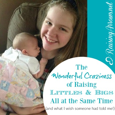 Raising a wide range of ages has challenges no one warned me about! | RaisingArrows.net