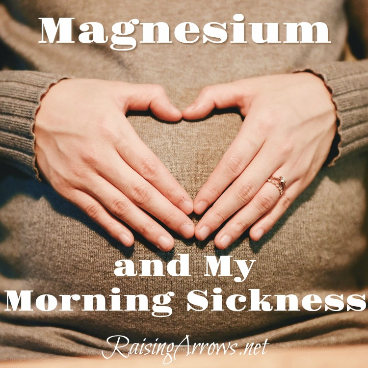 Does magnesium help morning sickness? Is it possible you are magnesium deficient, and adding a supplement would ease morning sickness symptoms, or even cure them?!