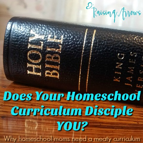 Have you ever considered how much you as a homeschool mom NEED a curriculum that speaks God's Word into YOUR life? Does your curriculum fill you up? It should!