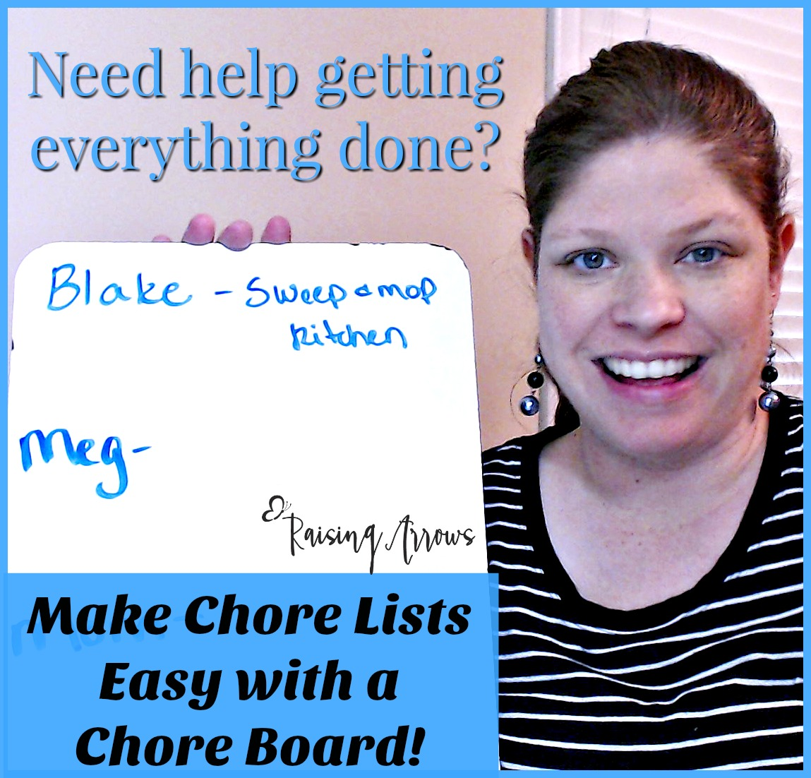 Making Chores Easy with a Chore Board