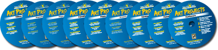 Win the Art Projects DVDs from See the Light!