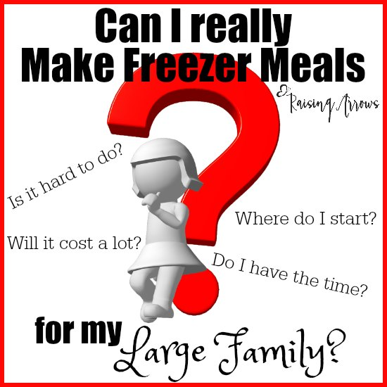 Do I Dare Make Freezer Meals for My Large Family?