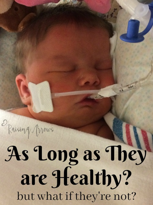 "Everyone says it doesn't matter if baby is a boy or a girl ""as long as they are healthy."" But what if they aren't?"