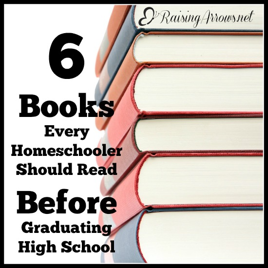 There are plenty of things your homeschooler needs to know before they leave home - here are 6 books they should be sure to read before they graduate to help solidify their faith and understand the world around them from a Biblical worldview.