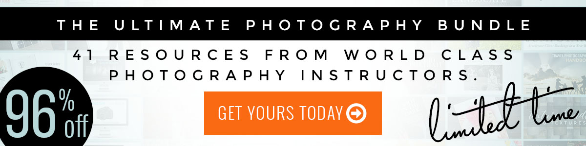 Photography Bundle on sale now!
