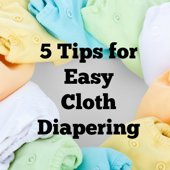 Are you curious about cloth diapering, but don't know where to start? Here are some great tips for making it easy!
