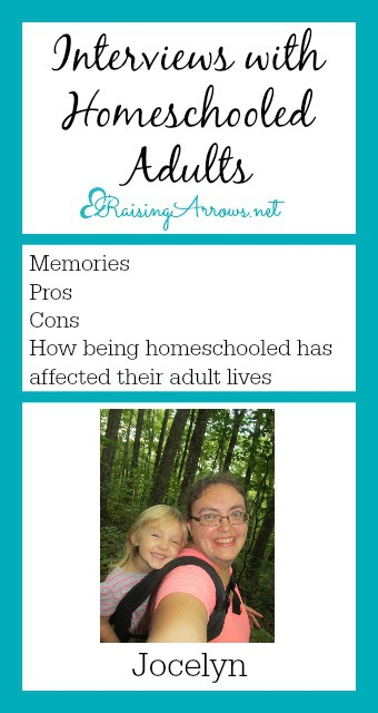 Interviews with Homeschooled Adults - Jocelyn's story